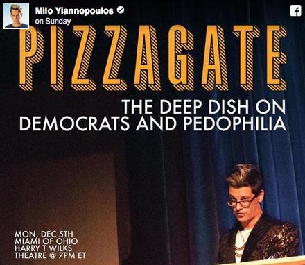 Un journaliste de Breitbart indique qu'il ne peut pas évoquer l'affaire du PizzaGate...du moins pas encore (MAJ importante)