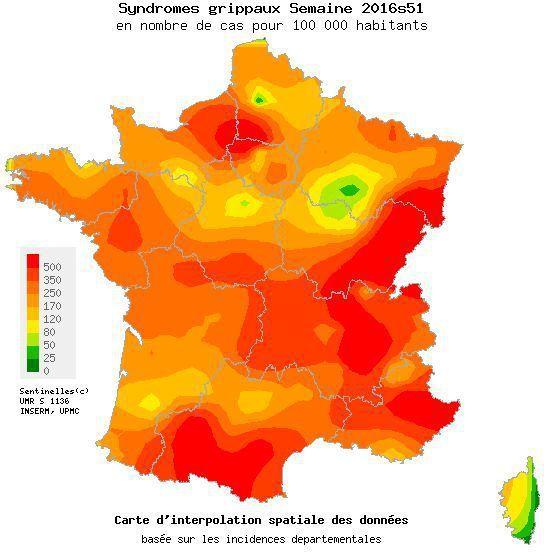 MAJ = FRANCE : La grippe tue 13 résidents d'une maison de retraite à Lyon