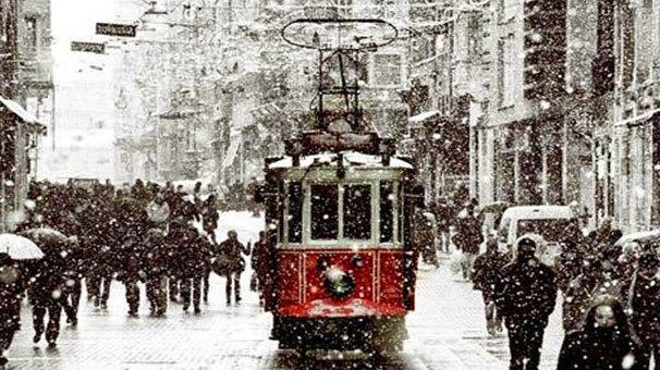 Istanbul ensevelie sous la neige !