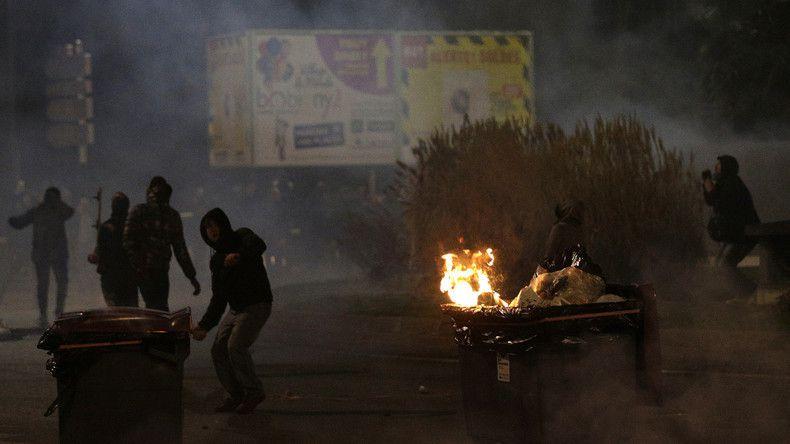 La manifestation en soutien au jeune Théo organisée à Bobigny le 11 février a été émaillée de violences