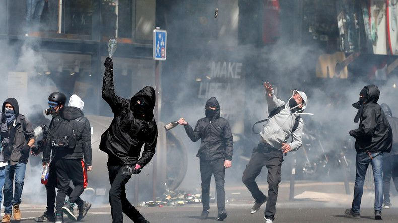«Ni Marine ni Macron» : plusieurs milliers de manifestants en France (PHOTOS, VIDEOS)