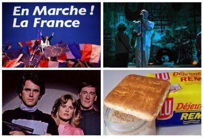 """""""La République en Marche"""", le nouveau nom choisi pour le nouveau mouvement créé par Emmanuel Macron sera usuellement raccourci en trois lettres : REM. Des initiales qui en rappellent d'autres : un biscuit, un androïde de série culte, ou un groupe emblématique du rock indépendant américain."""