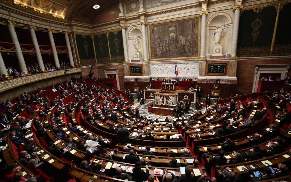 Palais-Bourbon (Paris VIIe). Plus de 210 députés sortants ne sont pas candidats à leur succession. Ce qui laisse augurer d'un renouvellement profond de la composition de l'Assemblée.LP/Arnaud Journois