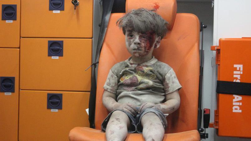 Moscou: CNN doit s'expliquer sur la «manipulation» des photos d'un garçon d'Alep, le petit Omran