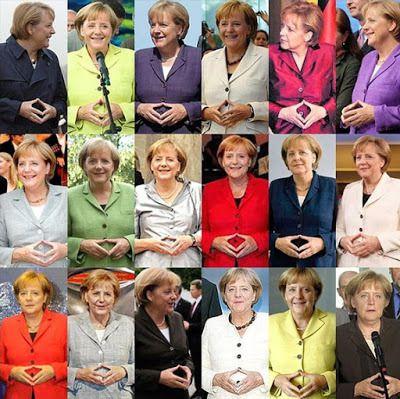 Le signe occulte d'Angela Merkel