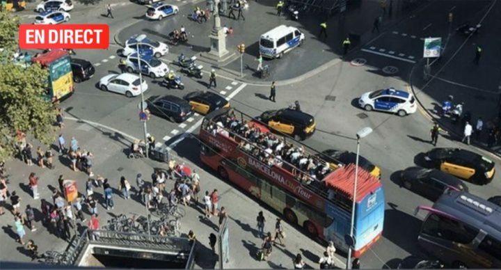 EN DIRECT - MAJ Attaque terroriste en Espagne : une fourgonnette fonce dans la foule à Barcelone