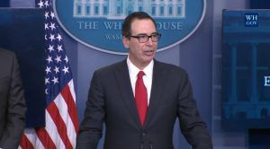 USA : Le secrétaire au Trésor Mnuchin visite Fort Knox : « L'or est en sécurité » + DSK ...