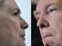 La chair de poule d'Hillary Clinton vis-à-vis de Donald Trump