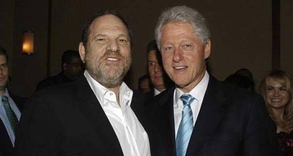 MAJ l'affaire Harvey Weinstein... soutien des démocrates US embarrasse Hillary Clinton et Obama ! PHOTOS