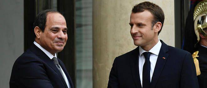 Macron apporte un soutien appuyé à l'Egypte, malgré les droits de l'homme