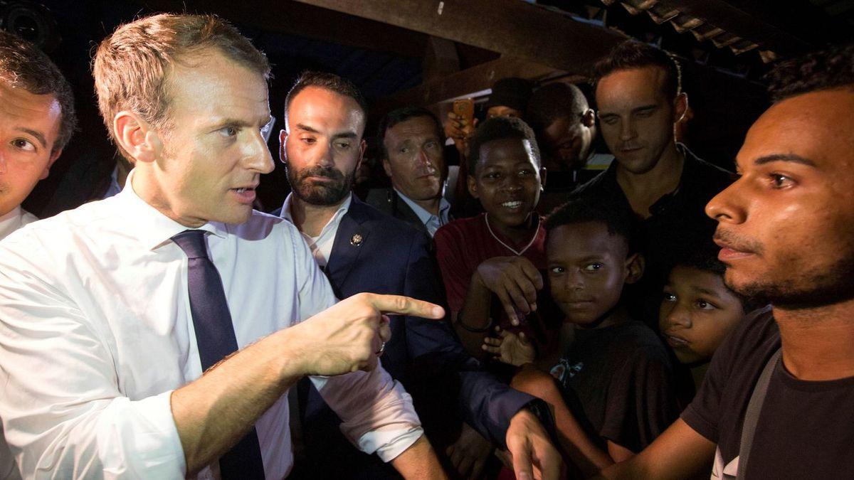 VIDÉO. En Guyane, Macron donne une petite leçon sur le cannabis + rappel = «Du bon fromage», «du slip», «de la drogue»: ce qu'on ignorait de Macron et de son équipe ....