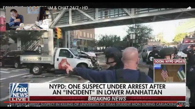 """New York : huit morts et 12 blessés dans un """"acte terroriste"""" à Manhattan, un suspect arrêté"""