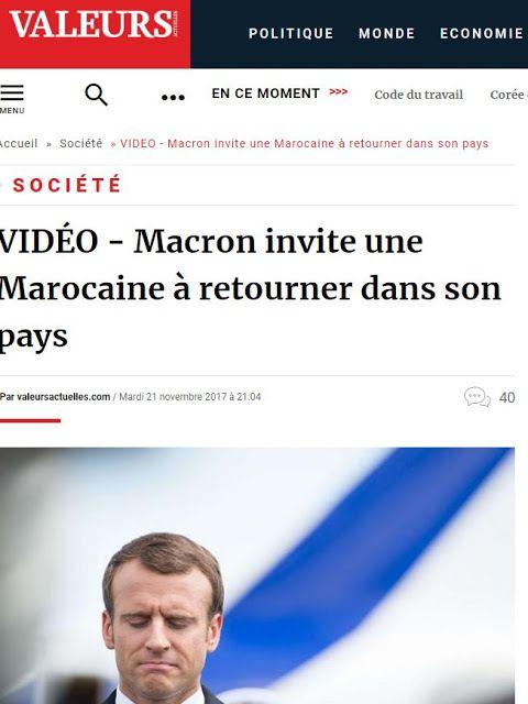 Macron sur l'immigration: l'avant / l'après