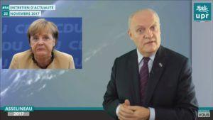 François Asselineau: « L'an prochain, il y aura 1,2 million de SDF en Allemagne, voilà le bilan brillant de Madame Merkel »