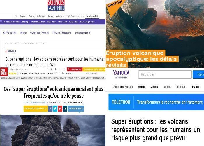 Éruption volcanique apocalyptique: les délais révisés