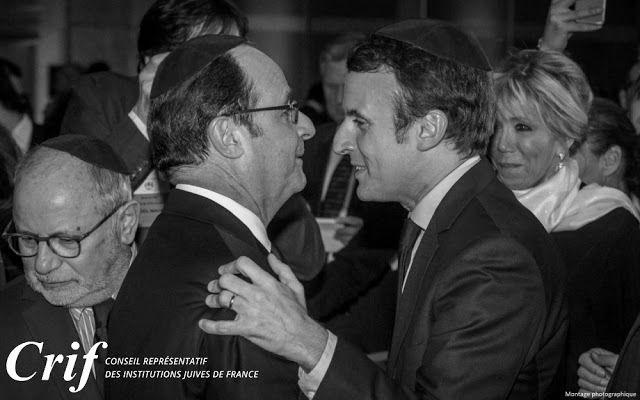 Dimanche 10/12/2017 :  Macron reçoit Netanyahu en plein regain de tensions au Proche-Orient