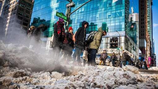USA : Des milliers de vols annulés à cause du froid extrême