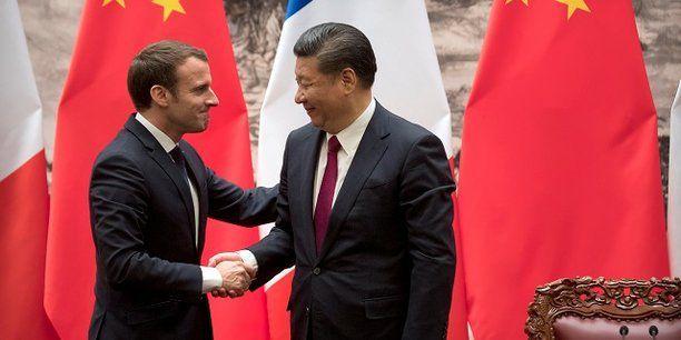Nucléaire : Macron en Chine décroche un contrat à 10 milliards d'euros pour New Areva