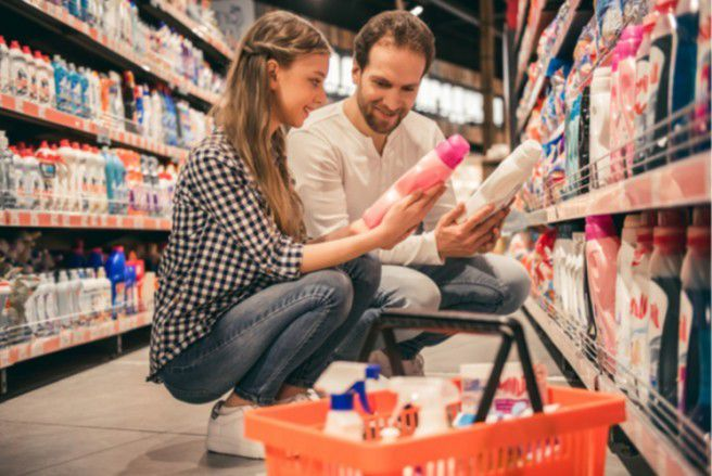 Votre lessive fait-elle partie de celles qui ont été épinglées par 60 Millions de consommateurs ? © Shutterstock