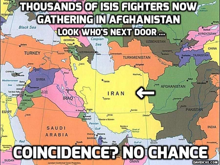 """USA. le """"Deep State"""" prépare un attentat massif de l'Etat islamique contre l'Amérique pour déclencher la guerre mondiale"""