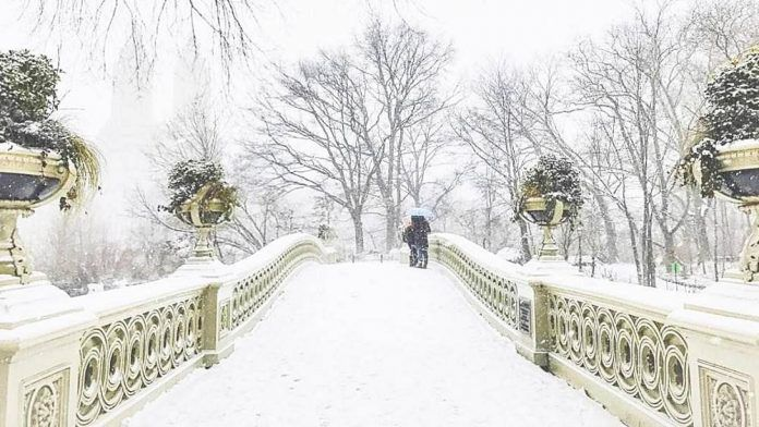 It's official: NYC hasn't seen snow like this in 130 years ( VIDEO en français)