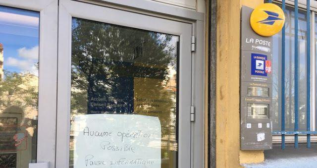 Une panne informatique paralyse tous les bureaux de La Poste du pays ce lundi