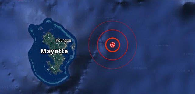 Mayotte : Une série de séismes inégalée (+de 700) laisse craindre une catastrophe de grande ampleur