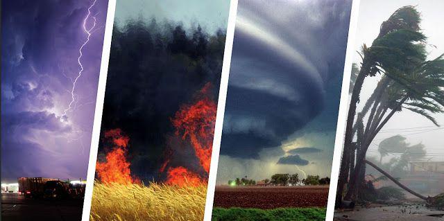 MAJ - La météo en folie ! Amplification alarmante des cataclysmes climatiques dans le monde