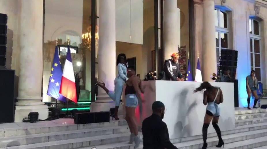 IMPORTANTE MAJ = ELYSEE : DJ et danseuses, l'étonnante fête de la musique (VIDEO) + MARINA ABRAMOVIC