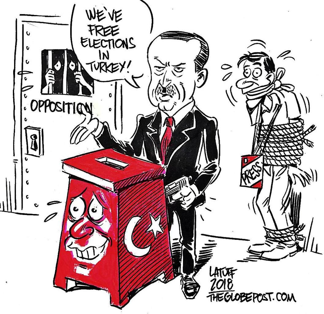 ELECTIONS TURQUES : ERDOGAN REELU DES LE PREMIER TOUR. SCORE HONORABLE POUR L'OPPOSITION …