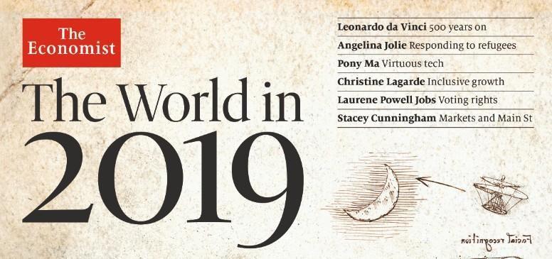 4 MAJ The Economist's annual look 2019 + TRADUCTION en français