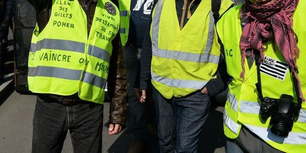 Gilets jaunes : 33.700 manifestants en France, dont 4.000 à Paris