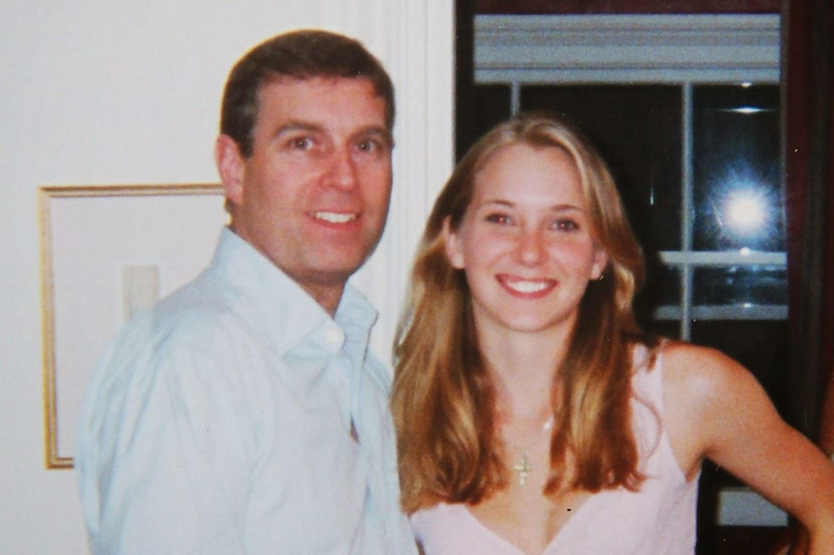 Le prince Andrew et Virginia Roberts