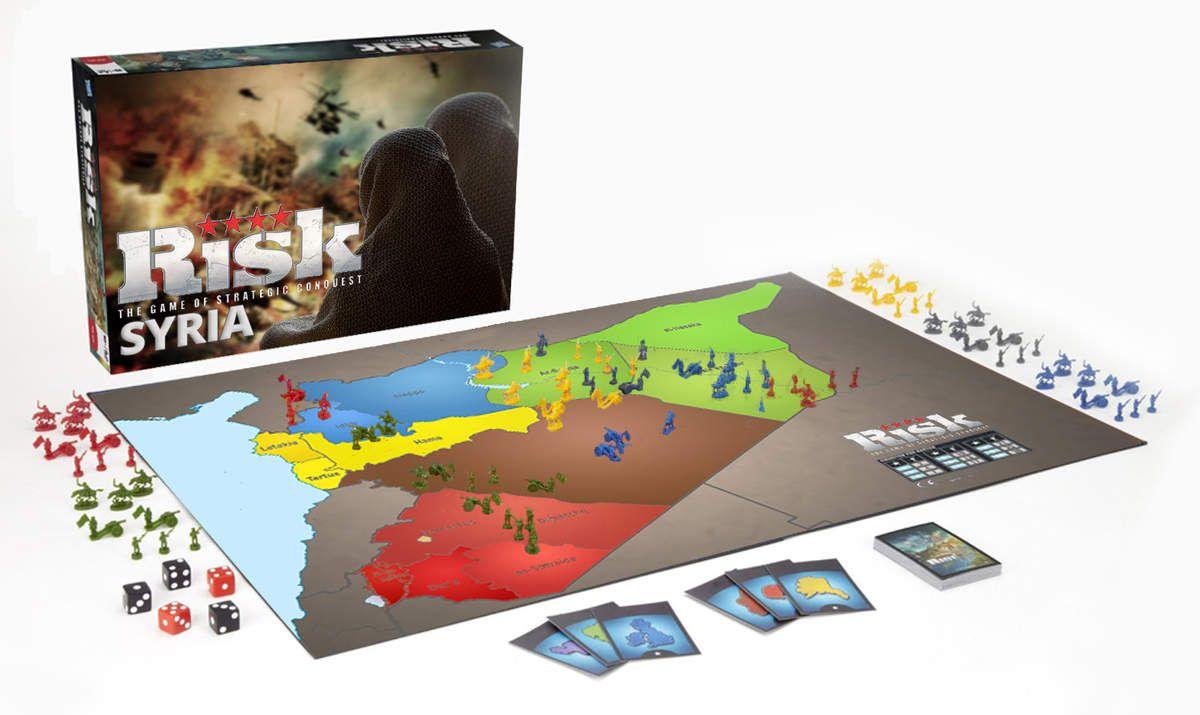 L'édition syrienne du jeu de société classique Risk est maintenant disponible