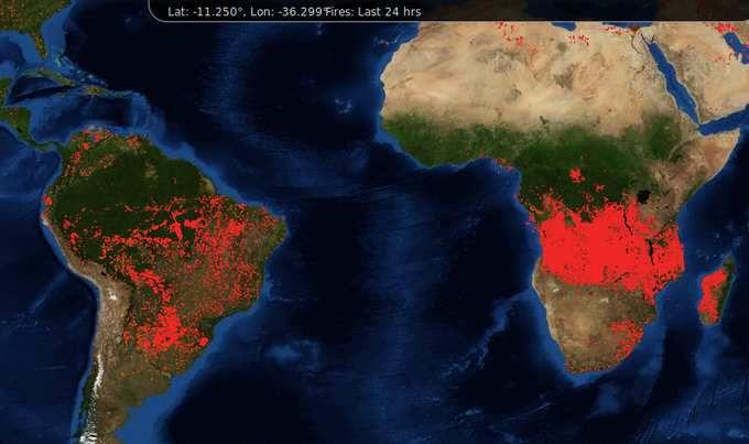 Pourquoi personne ne parle des incendies titanesques en Afrique subsaharienne