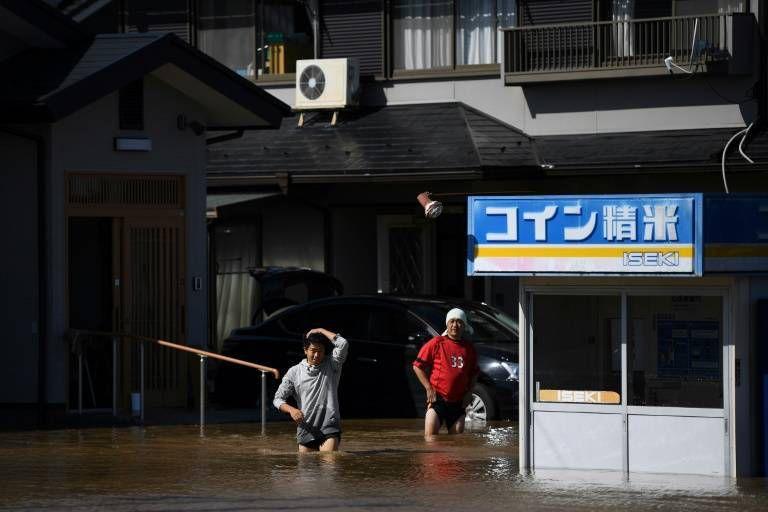 Typhon Hagibis: au moins 11 morts au Japon, secours sur le pied de guerre