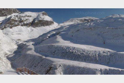 © Photo DR Le glacier du Pisaillas à Val-d'Isère.