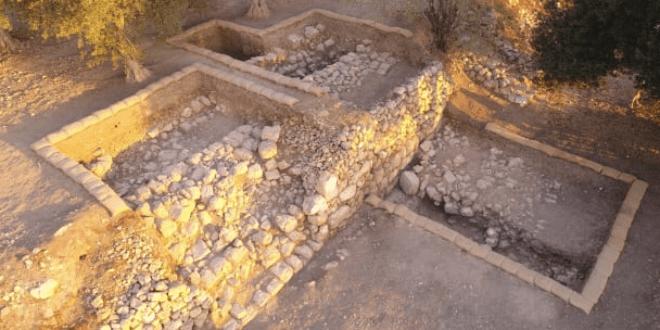ISRAEL: lieu de repos apparent pour l'Arche d'Alliance découvert à Beth Shemesh: comme écrit dans Samuel 1