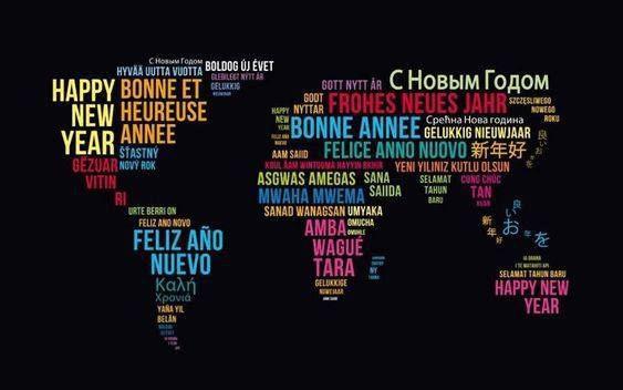Meilleurs Vœux ! Que la paix et la joie soient avec vous tous les jours de l'Année nouvelle !