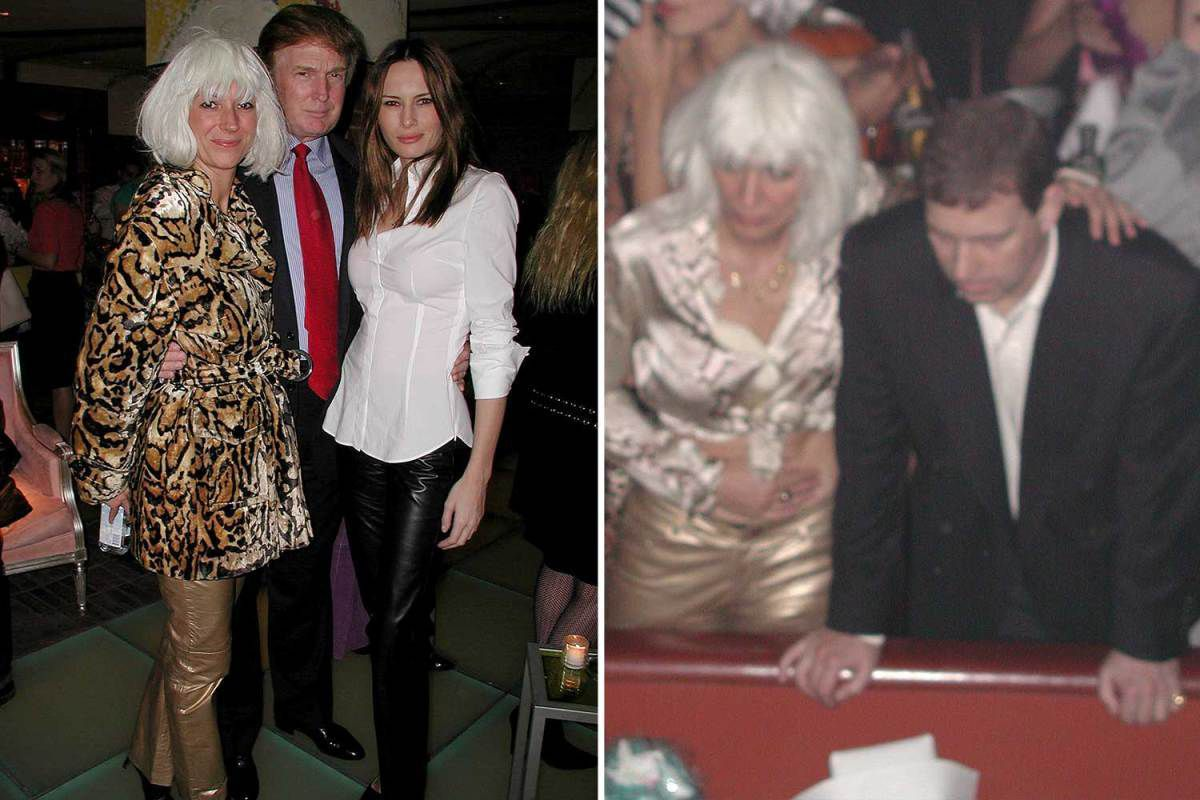 Donald Trump, Prince Andrew and Ghislaine Maxwell in new un-seen pictures at famous Heidi Klum Halloween party from 2000