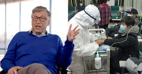 """Quel """"grand devin"""" ce Bill Gates. Il y a quelques mois, il évoquait sur Netflix que la prochaine grande pandémie pourrait commencer...dans un marché chinois"""