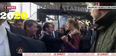 Quand Macron rencontre les mêmes personnes au Salon de l'agriculture d'une année sur l'autre
