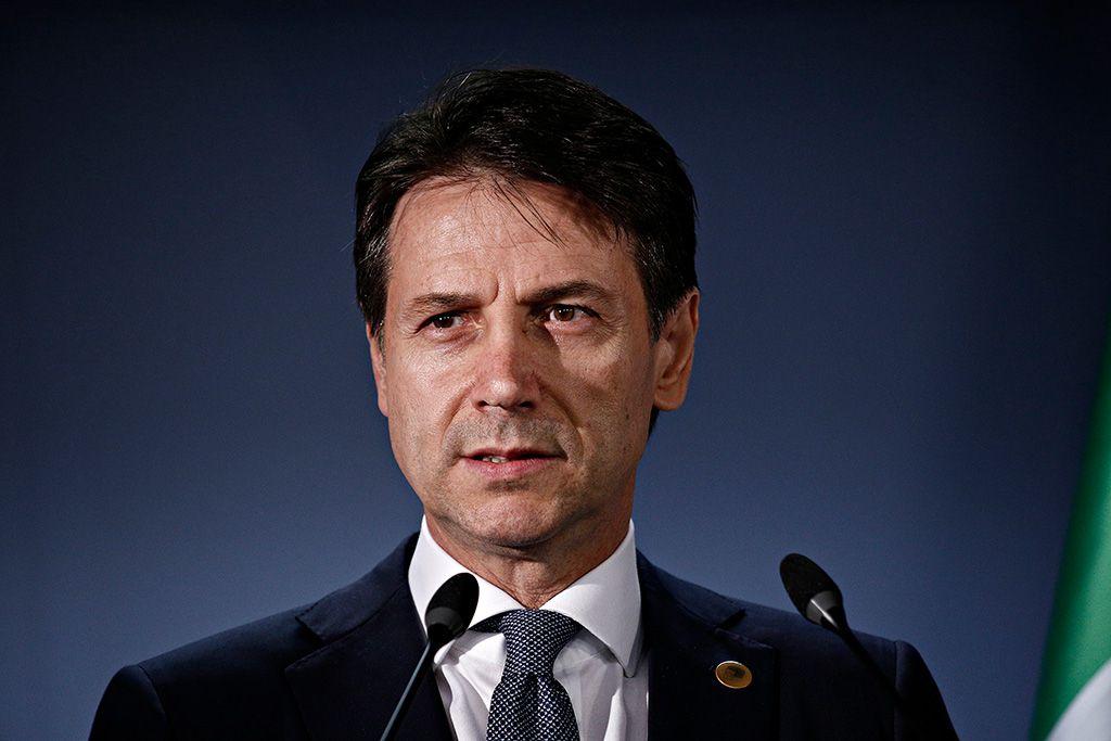 Le Président du conseil des ministres Giuseppe Conte. (photo Alexandros Michailidis / Shutterstock)