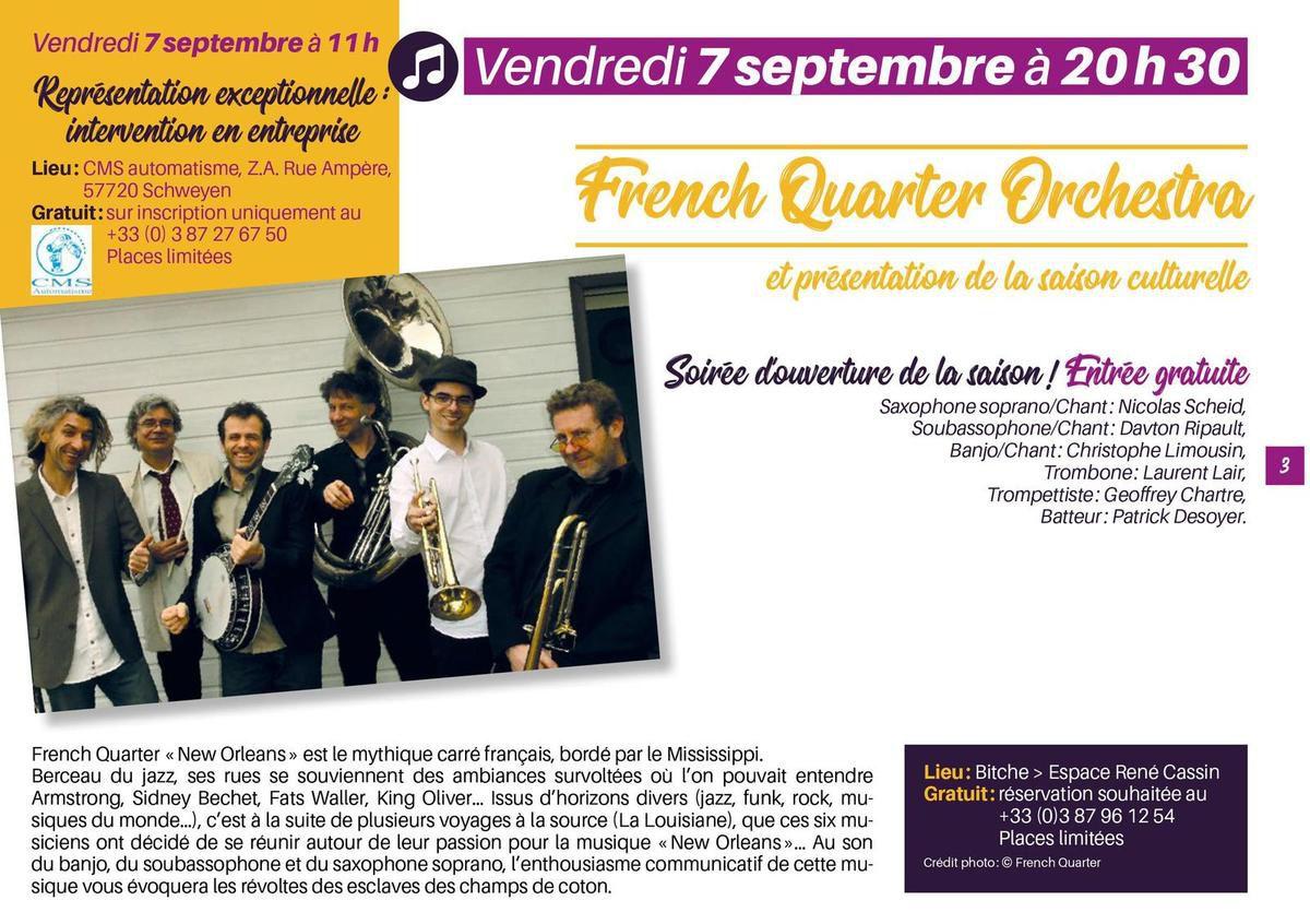 french quarter orchestra