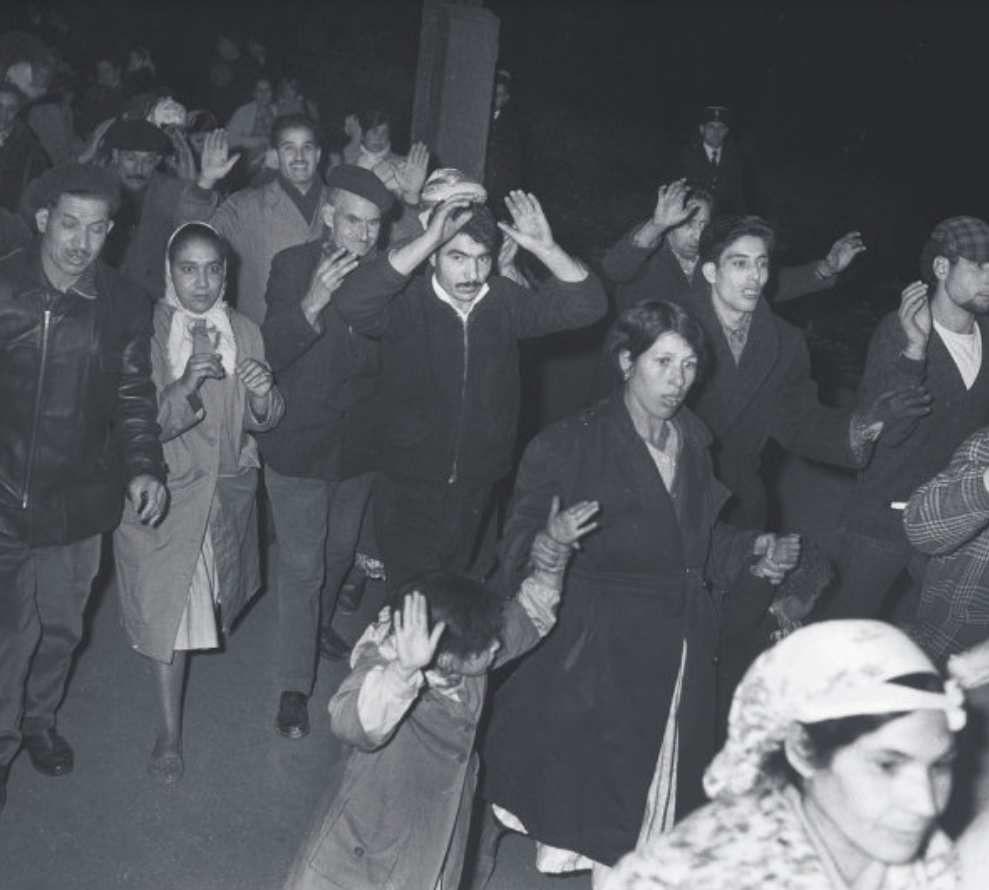 Rafle policière lors du massacre du 17 octobre 1961