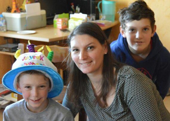 Alaska gâteau d'anniversaire de Maël