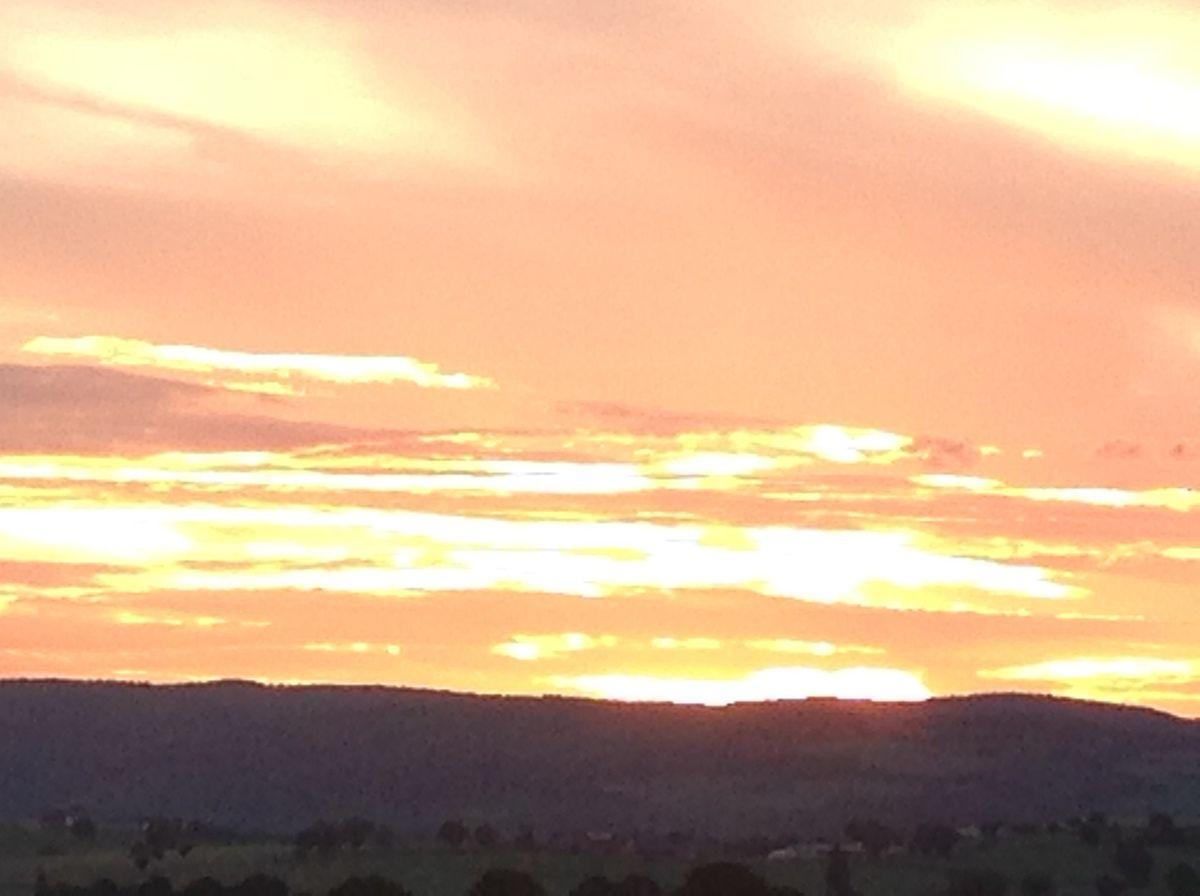 Les couchers de soleil de l'été..