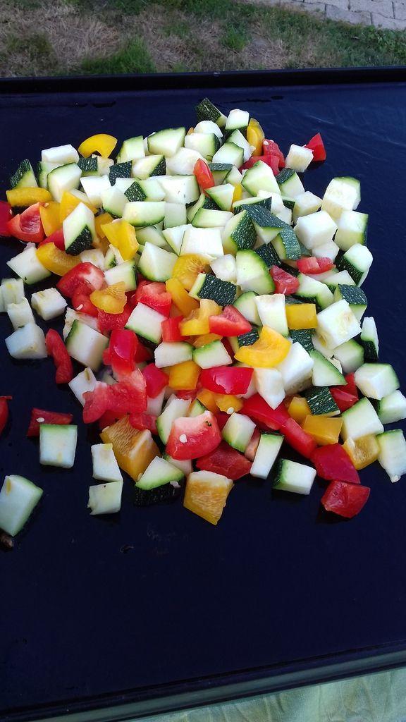 Plancha de légumes