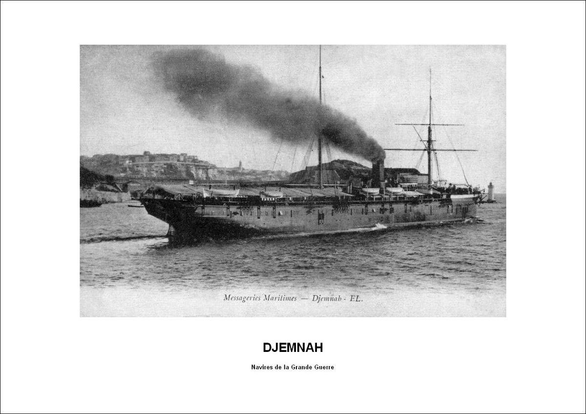 Arrivée de la 3e BRS à Brest en août 1916-Transport maritime
