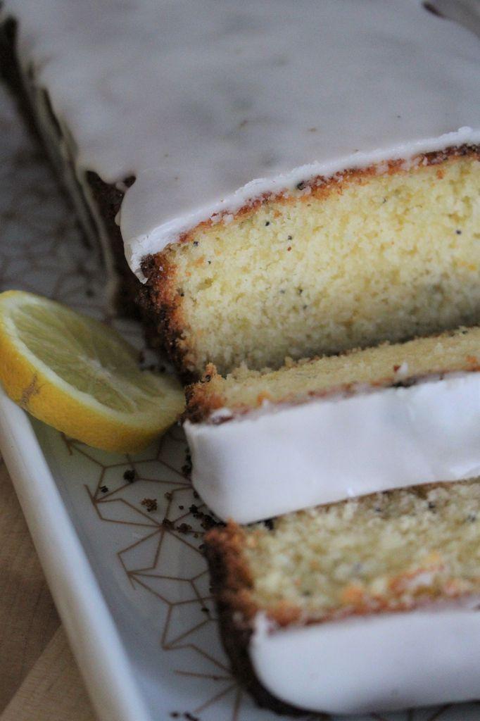 Cake moelleux citron-pavot.